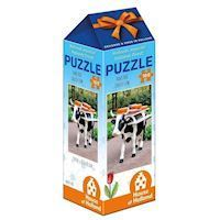 Holland most beautiful! Puzzle - Cheese Cow, 100pcs.
