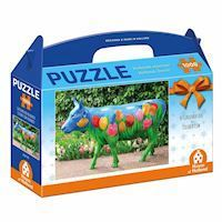 Holland most beautiful! Puzzle - The Colored Cow, 1000pcs.