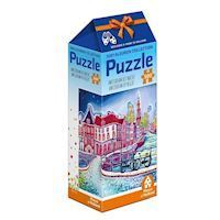 1001Color Puzzle - Amsterdam at night, 500pcs.