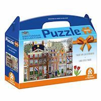 Amsterdam Puzzle - Parade of canal houses, 1000st.