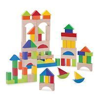 Wonderworld Building blocks, 100pcs