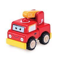 Wonderworld Wooden Fire Truck