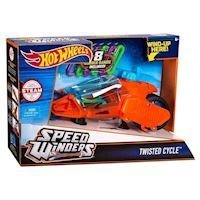 Hot Wheels Twisted Cycle Engine - Orange