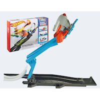 Hot Wheels FLK60 Stunt Builder raket launcher