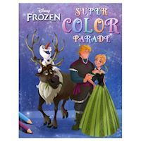Disney Super Color Parade Frozen, Malebog