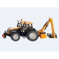 Siku Traktor with Kuhn embankment mower 1:32