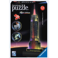 Ravensburger 3D Puslespil Empire State Building 216 dele night edition