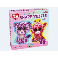 Ty Beanie Boos Puzzlespil 4in1