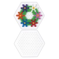 Hama Pärlplatta - Hexagon Small