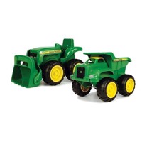 John Deere Tipper and Tractor