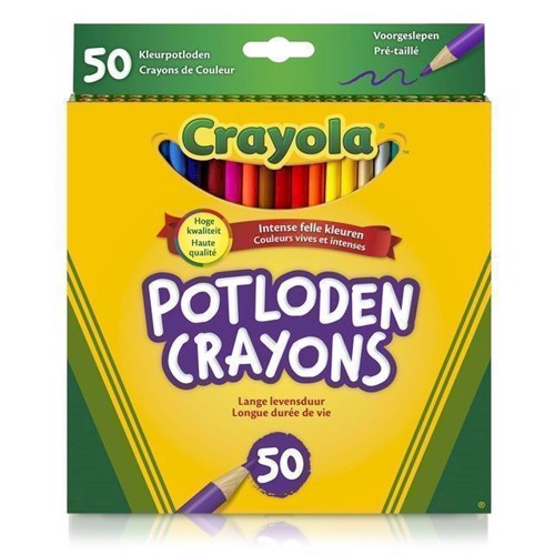 Crayola Färgpennor, 50 st.