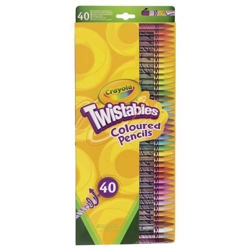 Crayola drejelige blyanter, 40 stk