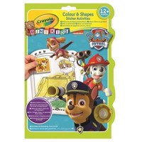 Crayola Mini Kids - Color and sticker book Paw Patrol