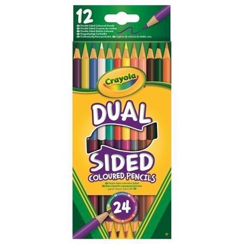 Crayola Duo Färgpennor, 12 st.