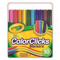 Crayola Colorclicks Tuschpennor, 10 st.