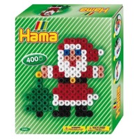Hama Strijkkralenset - Christmas, 400pcs.