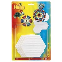 Hama Ironing Dishes - Hexagon, 4pcs.