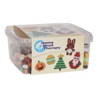 Hama String Set Maxi Holiday in Box, 900 pcs.