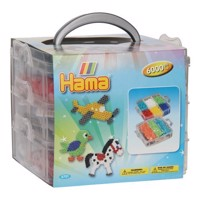 Hama ironing set in Sorteerbak, 6000st.