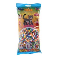 Hama String Beads Pastel Mix (205), 6000 psc