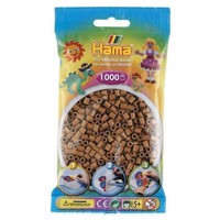 Hama Ironing Beads - Noga Brown (207-76), 1000st.