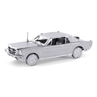 Metal Earth 1965 Ford Mustang Coupe Silver Edition