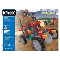 K'Nex 4WD Demolition Truck Construction Set, 212dlg.