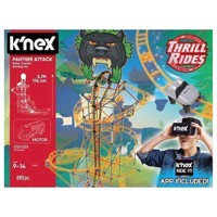 K'Nex Panther Attack Rollercoaster Construction set, 689dlg.