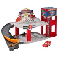 Disney Pixar Bilar Piston Cup Racing Garage