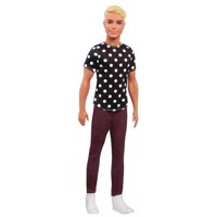 Ken Pop Fashionistas - Black with white dots