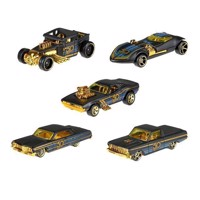 Hot Wheels 50-årsjubileum Black & Gold Jubileums Serien
