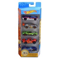 Hot Wheels 50-årsjubileum Bilar, 5 st.
