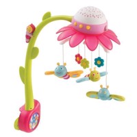 Smoby Cotoons Flowers Mobile Pink