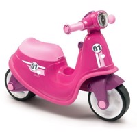 Smoby Scooter Ride On Pink