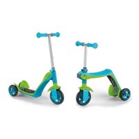 Smoby Reversible 2in1 Scooter Blue