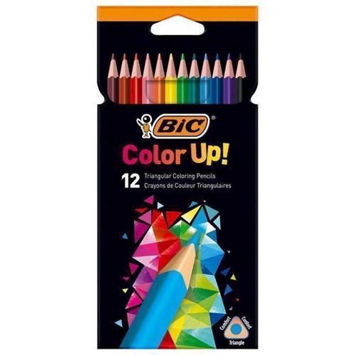 BIC Kids Color Up! Colored pencils, 12pcs.