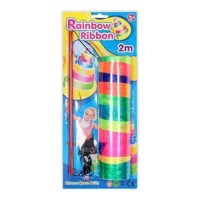 Rainbow Dance ribbon, 2mtr.