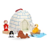 Portable Igloo Play set, 11 psc