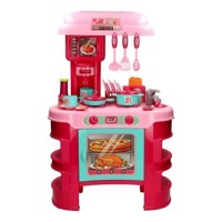 Childrens Kitchen with Light and Sound Pink
