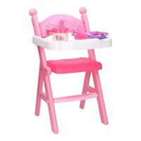 Doll chair with accessories