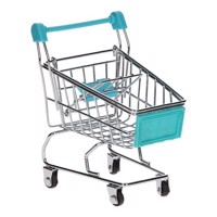 Metal Shopping Cart Mini