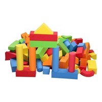 Foam Building Blocks, 131 psc