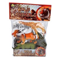 Wild animals Playset, 5pcs.