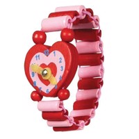 Wooden Watch-Heart
