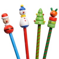 Wooden Pencil Christmas