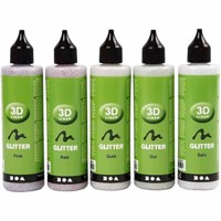 3D Liner - Glitter Colors - 5x100ml (30384)