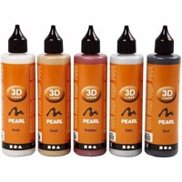 3D Liner - Metallic Colors - 5x100ml (30385)