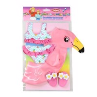 Dolls Swimming set Flamingo, 35-45 cm