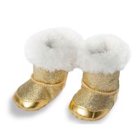 Doll shoes Gold, 35-45 cm