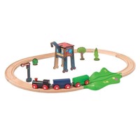 Eichhorn Train Set with Accessories, 18dlg.